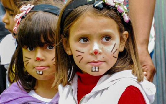 Com milhares de crianças e dezenas de voluntários, Campos do Jordão teve caça aos ovos de Páscoa