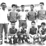Prof. Aboud, Bená, Nelson Brugger, Café, Nelson Ladeira, Julinho Ribeiro, Walter de Assis Melo, Cláudio e Ameriquinho Richieri.