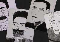 Quem é sua rua? Escola de Campos do Jordão faz exposição de caricaturas de personagens que dão nome as ruas da cidade.