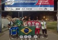Pilotos do BMX jordanense partem rumo ao Chile para mais uma prova internacional
