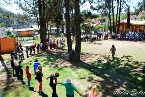 Abraço ao Parque dos Cedros em 2012 - Foto Tadeu Sales