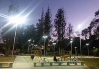 Agora o Parque dos Cedros tem iluminação – Campos do Jordão