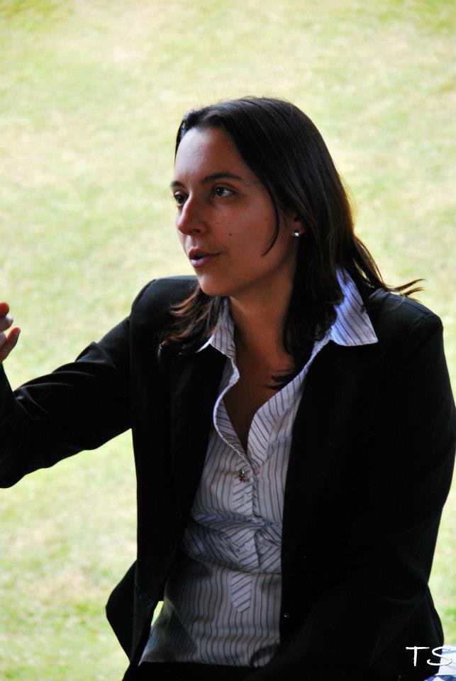 Renata Cristina Ortiz de Villate, fundadora e atual regente da Campos Filarmônica ou Orquestra Filarmonica de Campos do Jordão como também é conhecida.