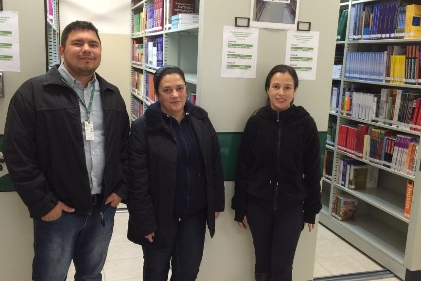 Equipe da Biblioteca do Instituto Federal