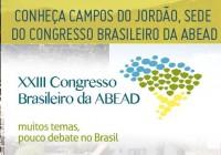 Congresso em Campos do Jordão debate problematica das drogas
