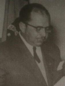 Otávio Augusto Faria Souto, primeiro Presidente do Rotary Club Campos do Jordão