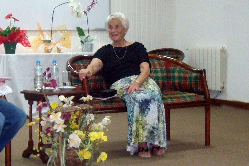 Homenagem Maria José Ávila - Professora Zezé