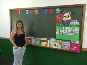 A professora Karen e os livros voltados para crianças menores