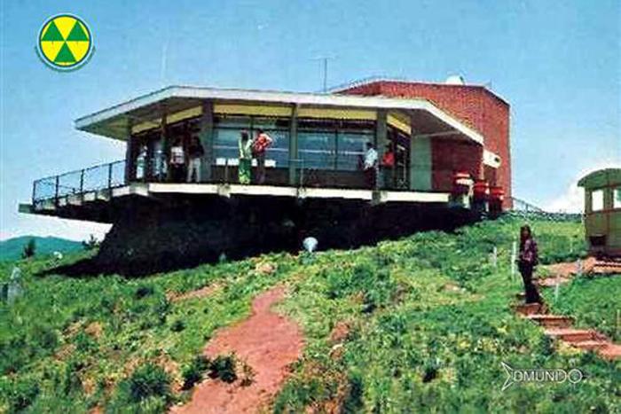 Construção Morro do Elefante - década de 1970