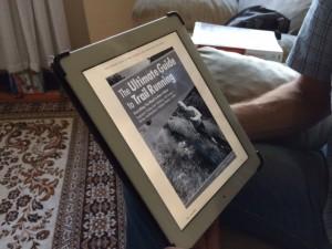 A leitura atual, em e-book