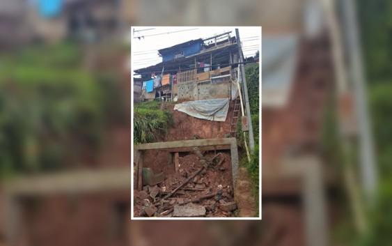 CAMPOS DO JORDÃO EM ALERTA DEVIDO AS CHUVAS. Famílias já foram removidas de suas casas pela defesa civil.