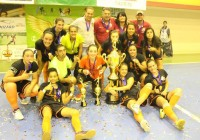 Meninas do Futsal brilham nas Alterosas sagrando-se campeãs em duas Copas