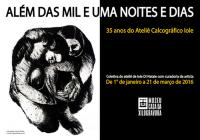 Exposição comemorativa aos 35 anos do Ateliê Calcográfico Iole Di Natale segue até dia 21