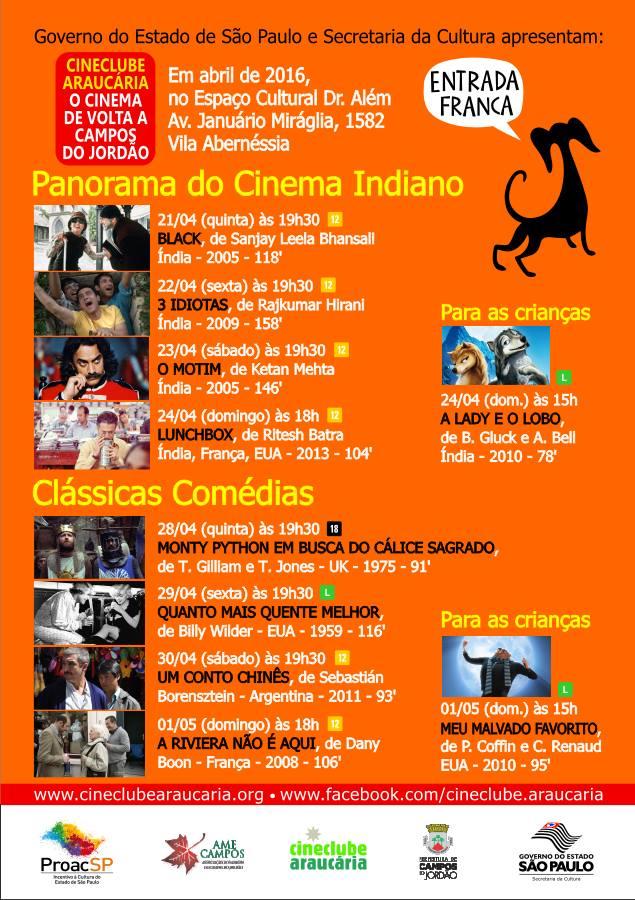 Mostra de Cinema Indiano em Campos do Jordão