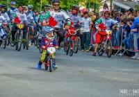 Espírito Cívico marca a presença de modalidades esportivas em desfile do Dia da Cidade.