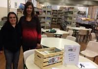 E.M. Irene Lopes Sodré recebe Caixote de Livros dos Amigos da Biblioteca