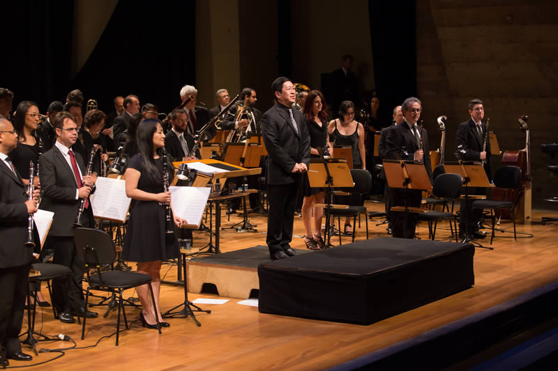 Banda Sinfônica do Estado de São Paulo. Foto: Yuri Tavares