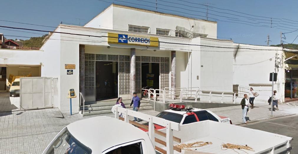 Agência do Correio que foi assaltada em Campos do Jordão. Foto: Street View