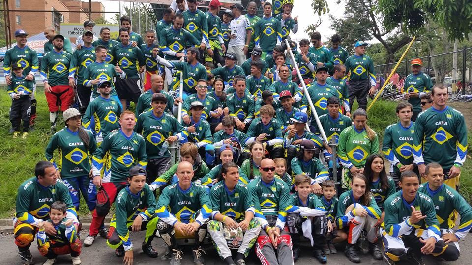 Delegação Brasileira de BMX - Mundial 2016