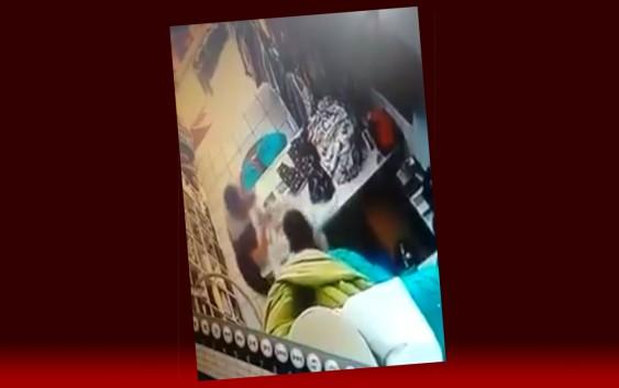 Balconista é agredida em loja de Campos do Jordão – Câmeras de segurança gravaram agressão