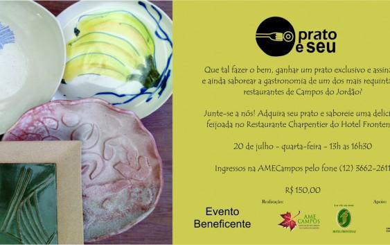 Evento une arte, gastronomia e solidariedade em Campos do Jordão