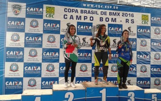 Atleta do bicicross de Campos do Jordão é vice-campeã da Copa do Brasil de BMX