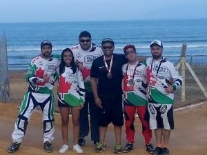 Equipe do BMX de Campos do Jordão que participou dos Jogos Regionais 2016