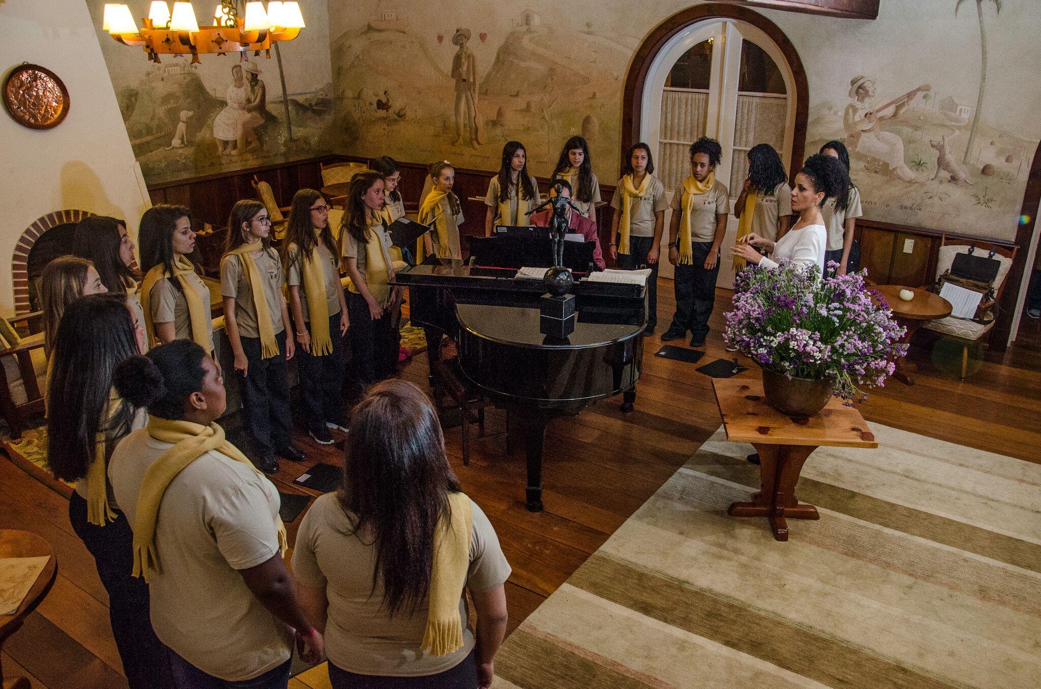 Concerto Meninas Cantoras de Campos do Jordão @ Mercado São Bento