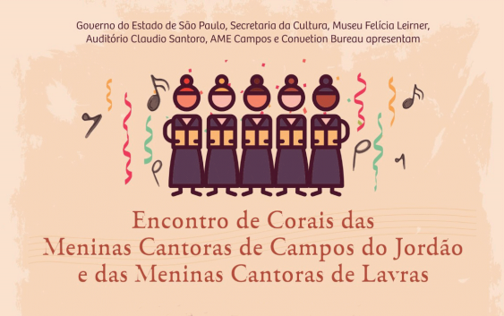 Carnaval terá Corais das Meninas Cantoras de Campos do Jordão e Lavras, juntas no Auditório Claudio Santoro