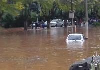 Chuva torrencial alaga Campos do Jordão – Veja as recomendações da Defesa Civil
