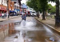 Dia seguinte: Prefeitura interdita avenidas para limpeza na manhã dessa quinta-feira.