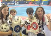 Taekwondo jordanense um dia banhado em ouro, prata e bronze