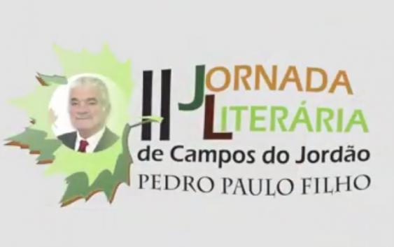 II Jornada Literária de Campos do Jordão – Pedro Paulo Filho, acontece de 3 a 5 de novembro