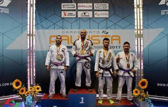 Lutador de Jiu-Jitsu de Campos do Jordão sagra-se Bi-Campeão Paulista em 2017 na cidade de Barueri – SP