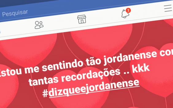 """Brincadeira #DizQueÉJordanense"""" viraliza nas redes sociais"""