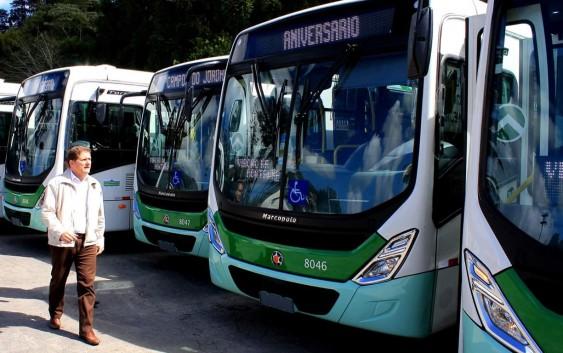 Redução nos horários e linhas de ônibus em Campos do Jordão nesta quinta-feira