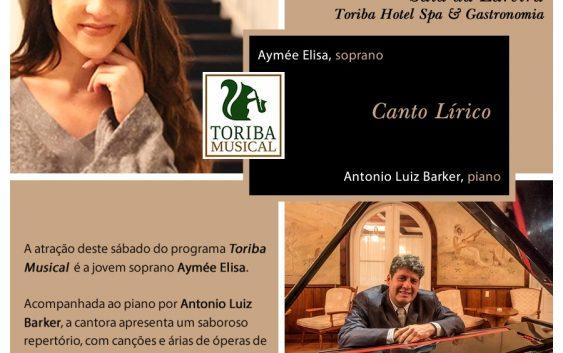 Toriba Musical apresenta: Aymée Elisa, soprano