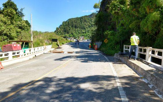 Rodovia Floriano Rodrigues Pinheiro (SP-123) será liberada ao tráfego às 16h desta segunda-feira (17)