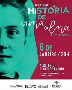 Musical História de Uma Alma - Santa Teresinha @ Auditório Claudio Santoro