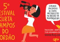 Inscrições abertas para Festival de Curtas de Campos do Jordão