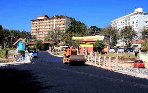 Obras da Avenida City Park serão entregues no sábado