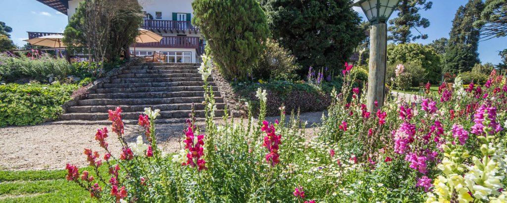 Jardins do Hotel Toriba