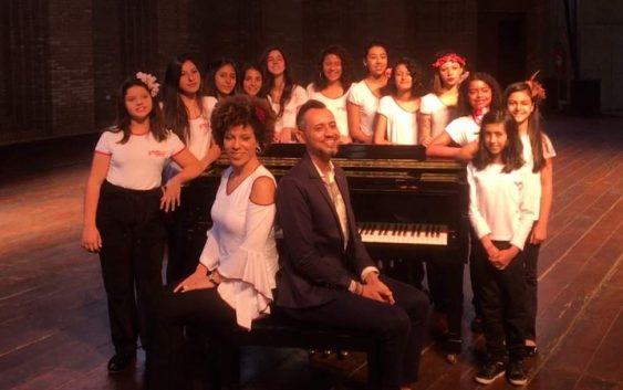 Meninas Cantoras de Campos do Jordão participam de ópera em Taubaté neste sábado!