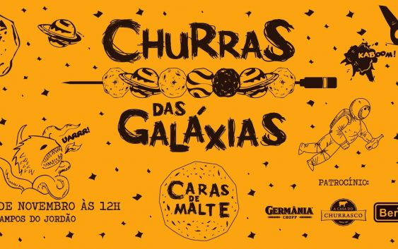 Campos do Jordão terá Churras das Galáxias neste sábado!