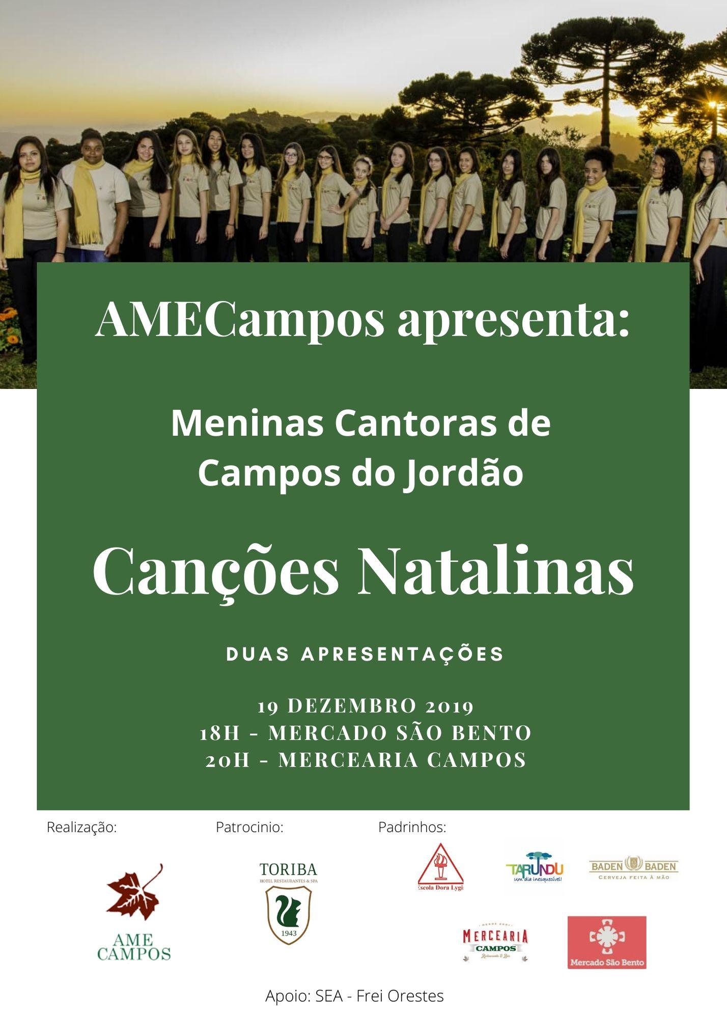 Concerto Meninas Cantoras de Campos do Jordão @ Mercearia Campos