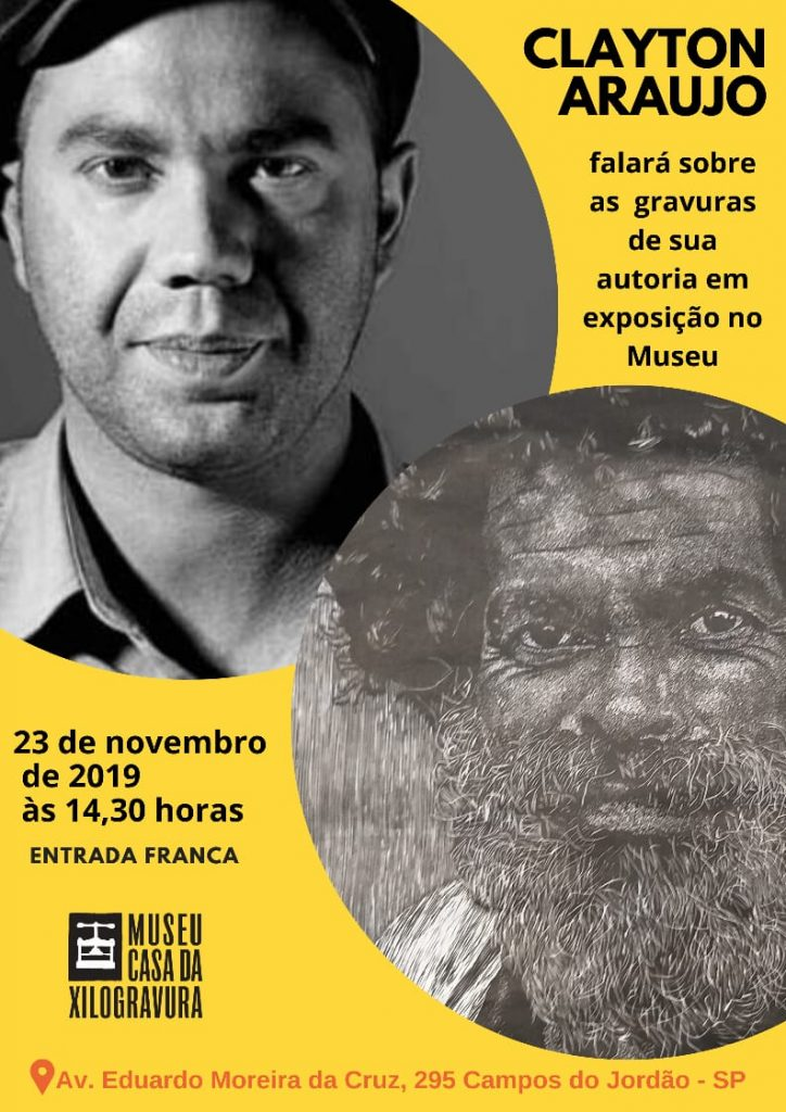 Clayton Araujo - Conversa com Artista @ Museu Casa da Xilogravura