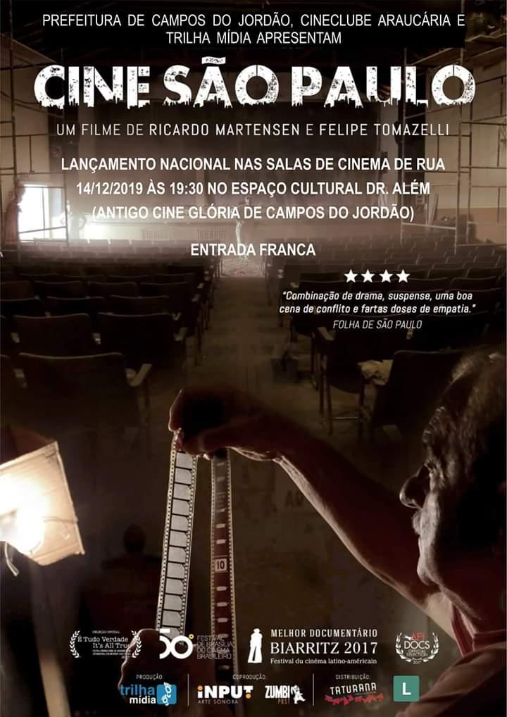Cine São Paulo - Lançamento Nacional @ Espaço Cultural Dr. Além