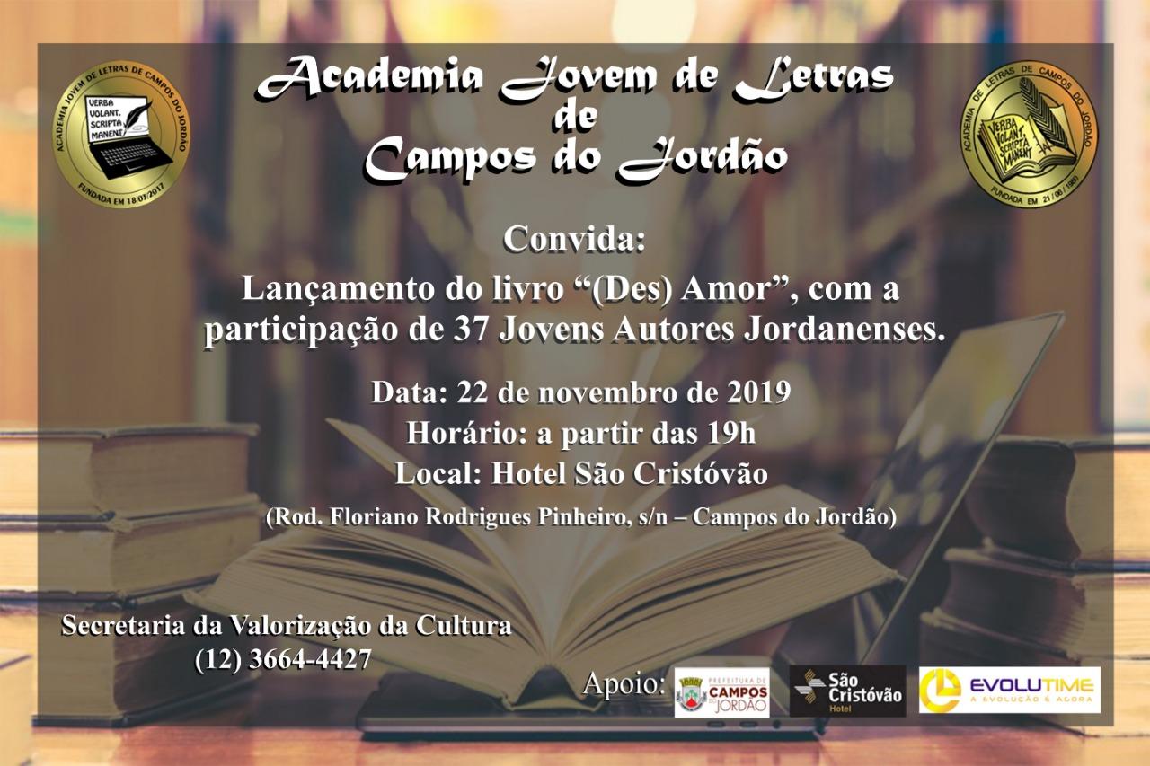 """Lançamento do livro """"(Des) Amor"""" @ Hotel São Cristovão"""
