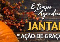 Grupo GANSO convida para Jantar de Ação de Graças