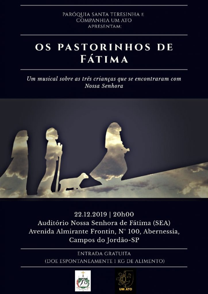 """Musical """"Os Pastorinhos de Fátima"""" @ Auditório Nossa Senhora de Fatima"""